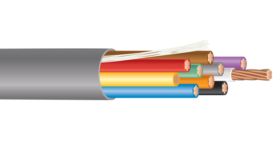 Multiconductor - Plenum Rated - Unshielded Cable