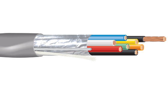 Multiconductor - Riser Rated - Shielded Cable