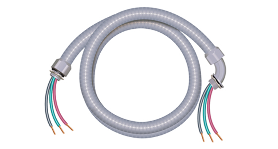 Ultra-Whip Non-Metallic Liquidtight Whip