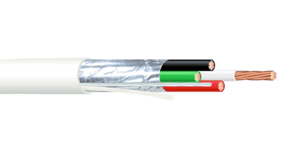 Multiconductor - Plenum Rated - Shielded Cable