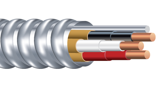 Duraclad Type AC Cable