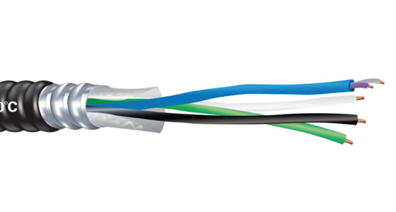 MC-PCS Duo PVC Jacketed Power & Control/Signal Cable