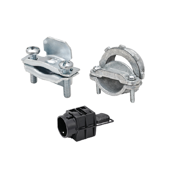 Romex Fittings, Straps, Clamps