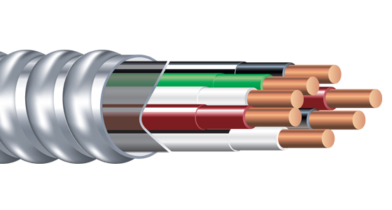 Armorlite Type MC - Multi-Circuit Cable