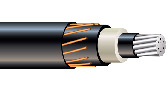 35kV TRXLPE Concentric Neutral PowerGlide Cable Jacket