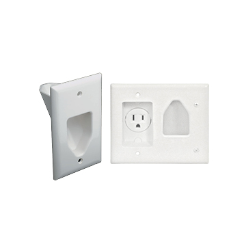In-Wall Media Snorkle Plates