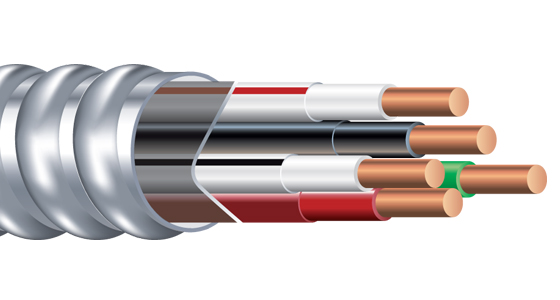 Armorlite Type MC Neutral Per Phase Cable