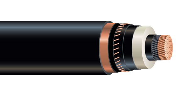 High Voltage 115kV Power Cable