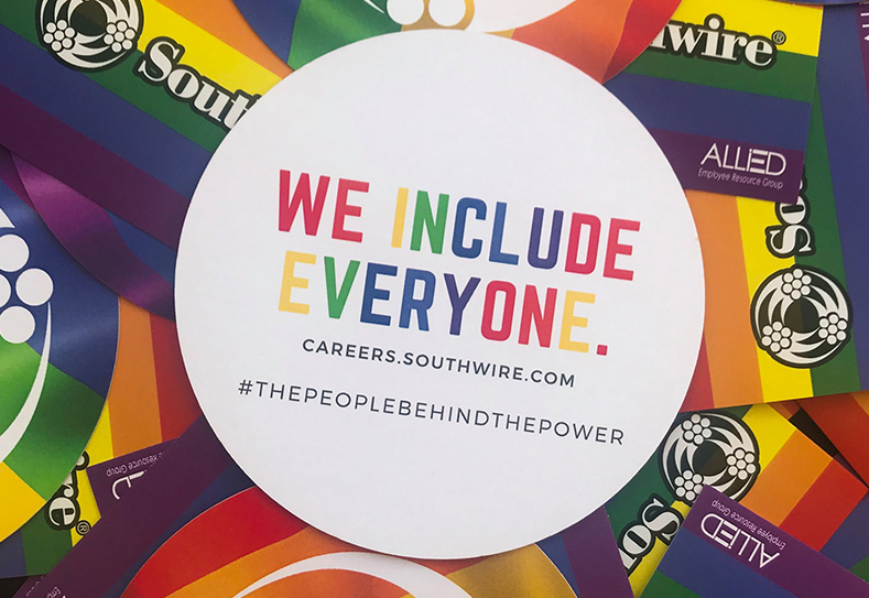 Southwire's Project GIFT<sup>®</sup> Partners with ALLiED to Give Back in Honor of Pride