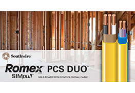 Southwire Announces Launch Of Romex® Brand Simpull® Nm B Pcs Duo™ Cable