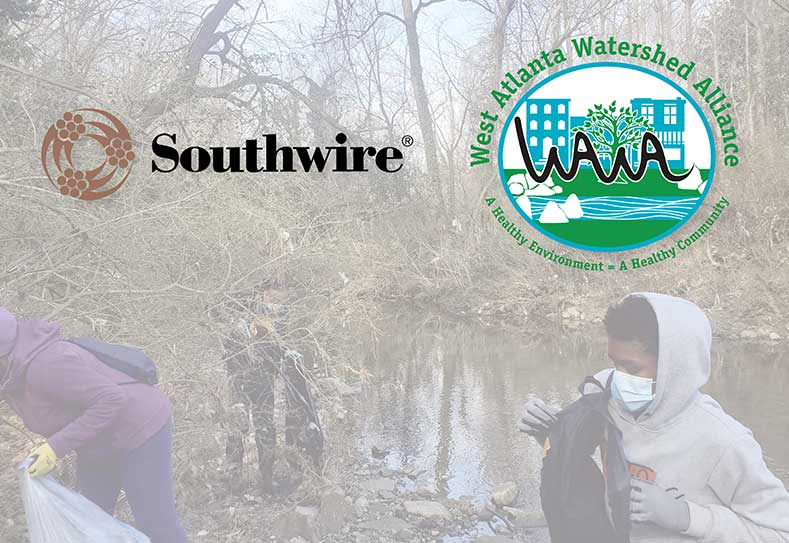 Southwire Donation to West Atlanta Watershed Alliance for Educational Project