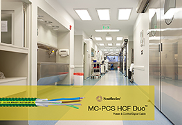 Introducing MC-PCS HCF DUO™ Cable For Healthcare Lighting Applications
